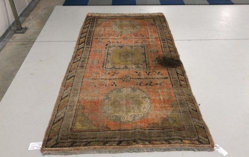 Handmade Persian Rug – Before